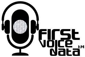 FirstVoiceData(TM) logo