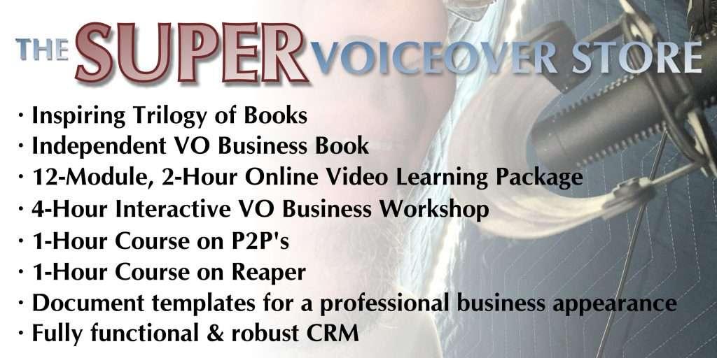 Super Voiceover Store